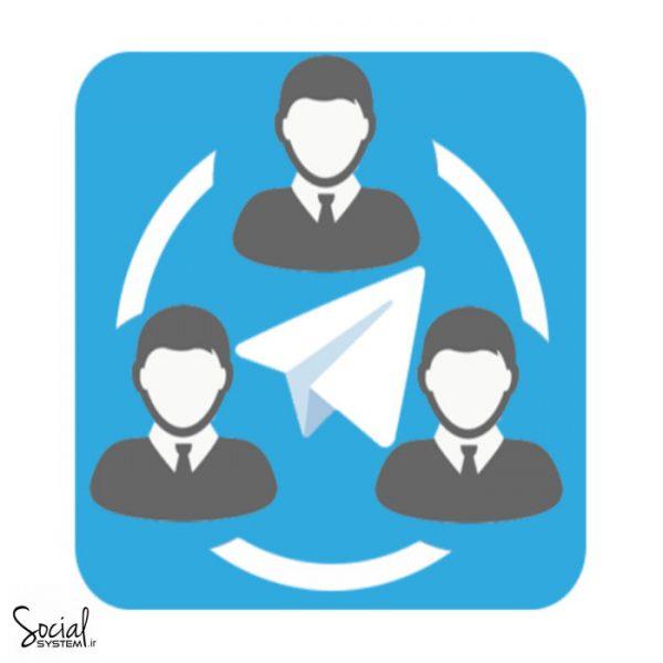 ممبر واقعی اختیاری ( پاپ اپ - خانم ) کانال تلگرام