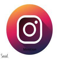 منشن اینستاگرام ( اکانت های ایرانی بر اساس فالوور های پیج هدف )